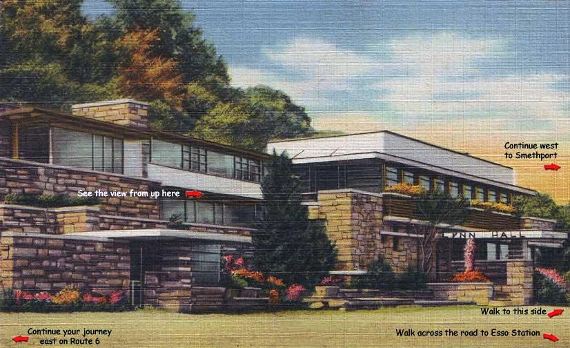 lynn hall vintage postcard seamus mcgraw